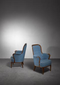Axel Larsson Pair of Swedish Modern armchairs - 1257894