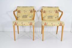 Axel Larsson Rare Pair of Armchairs by Axel Larsson for Bodafors 1936 - 1147304