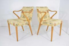 Axel Larsson Rare Pair of Armchairs by Axel Larsson for Bodafors 1936 - 1147306