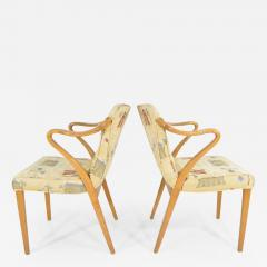 Axel Larsson Rare Pair of Armchairs by Axel Larsson for Bodafors 1936 - 1148364