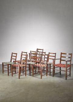 Axel Larsson Set of 10 dining chairs by Gemla Di Sweden - 1001366