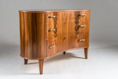Axel Larsson Swedish Grace Chest of Drawers by Axel Larsson for Bodafors 1940s - 959383