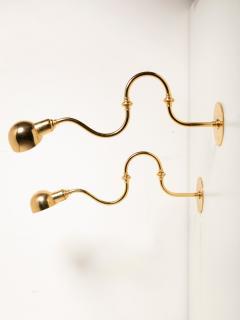 Azucena Pair of Tromba Wall Lamps by Luigi Caccia Dominioni for Azucena - 1587493