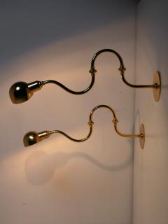 Azucena Pair of Tromba Wall Lamps by Luigi Caccia Dominioni for Azucena - 1587494