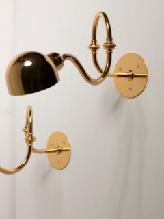 Azucena Pair of Tromba Wall Lamps by Luigi Caccia Dominioni for Azucena - 1587498