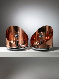 Azucena Pair of Ventola Table Lamps by Caccia Dominioni for Azucena - 1126957