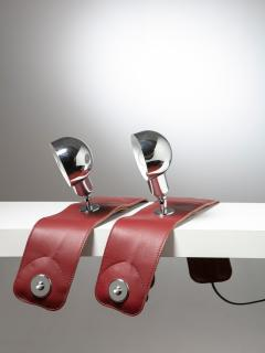 Azucena Pair of armchair Lamps LP01 by Luigi Caccia Dominioni for Azucena - 1143051