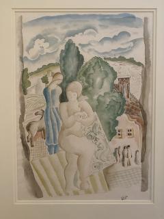B la K d r Jeune femme a lentree du village - 1937023