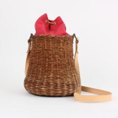 B n dicte Magnin Robert Bespoke Leather and Willow Bark Crossbody Bag Le D bonnaire - 1681642