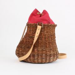 B n dicte Magnin Robert Bespoke Leather and Willow Bark Crossbody Bag Le D bonnaire - 1681644