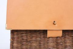 B n dicte Magnin Robert Bespoke Leather and Willow Bark Crossbody Bag Le D vou  - 1681678