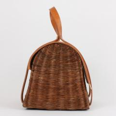 B n dicte Magnin Robert Bespoke Leather and Willow Bark Handbag Le Pr cieux - 1681634