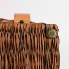 B n dicte Magnin Robert Bespoke Leather and Willow Bark Handbag Le Pr cieux - 1681636