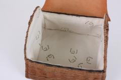 B n dicte Magnin Robert Bespoke Leather and Willow Bark Handbag Le Pr cieux - 1681658