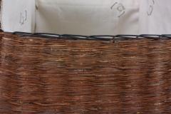 B n dicte Magnin Robert Bespoke Leather and Willow Bark Handbag Le Pr cieux - 1681660
