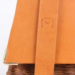 B n dicte Magnin Robert Bespoke Leather and Willow Bark Handbag Le Pr cieux - 1681672