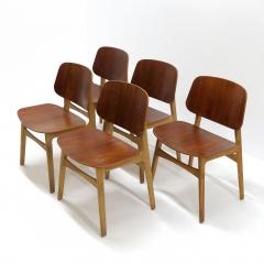 B rge Mogensen B rge Mogensen Dining Chairs Model 122 1950 - 952157