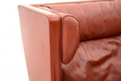 B rge Mogensen One of Two B rge Mogensen Coupe Leather Sofa 2192 Frederica Denmark 1971 - 303284