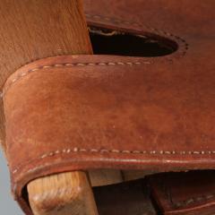 B rge Mogensen Pair of Borge Mogensen Spanish Chairs for Fredericia Denmark 1950 - 1143547