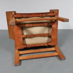 B rge Mogensen Pair of Borge Mogensen Spanish Chairs for Fredericia Denmark 1950 - 1143548