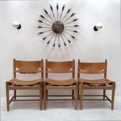 B rge Mogensen Set of Six Hunting Chairs Model 3251 by B rge Mogensen - 584355