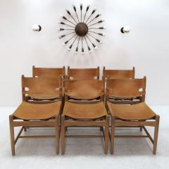 B rge Mogensen Set of Six Hunting Chairs Model 3251 by B rge Mogensen - 584357