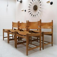 B rge Mogensen Set of Six Hunting Chairs Model 3251 by B rge Mogensen - 584358