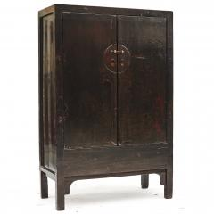 BLACK Brown CHINESE QING DYNASTY PERIOD CABINET FROM SHANXI 1800 1820 - 1943619