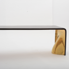 BRONZE AND GOLD BENCH - 1366183