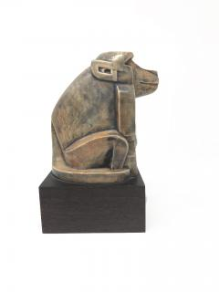 Baboon Ceramic Sculpture Eliezer Weishoff 1938  - 744207