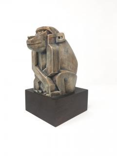 Baboon Ceramic Sculpture Eliezer Weishoff 1938  - 744210