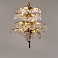 Bakalowits Gilt Bronze Palm Tree Chandelier - 2053987