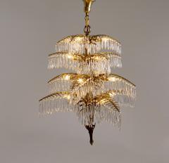 Bakalowits Gilt Bronze Palm Tree Chandelier - 2054079