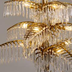 Bakalowits Gilt Bronze Palm Tree Chandelier - 2054084