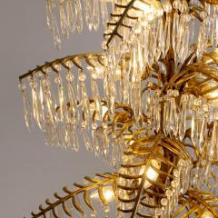 Bakalowits Gilt Bronze Palm Tree Chandelier - 2054085