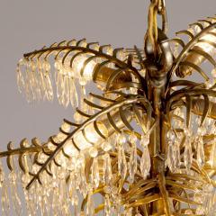 Bakalowits Gilt Bronze Palm Tree Chandelier - 2054086