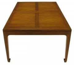 Baker Furniture Company Baker Far East Figured Parquetry Walnut Dining Table - 280172