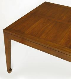 Baker Furniture Company Baker Far East Figured Parquetry Walnut