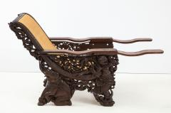 Balinese Rosewood Plantation Chair - 1576407
