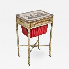 Baltimore Federal Japanned Needlework Table - 1466723