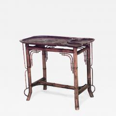 Bamboo French Victorian End Table   668113