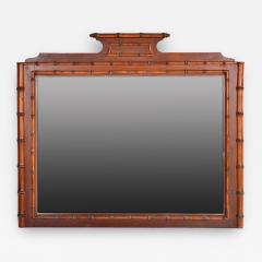 Bamboo Style French Mirror - 150454