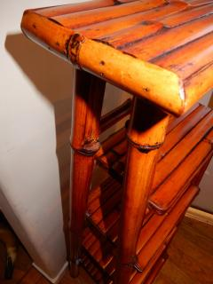 Bamboo West Indian Artisan Stand Ladder - 1329192