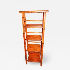 Bamboo West Indian Artisan Stand Ladder - 1330039