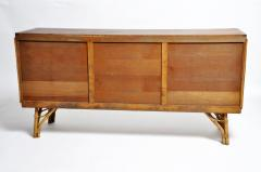Bamboo and Rattan French Riviera Style Side Board - 888364