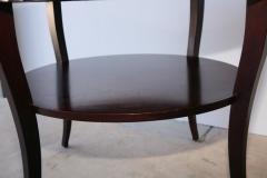 Barbara Barry Signed French Moderne Style Barbara Barry French Polished Mahogany Center Table - 960969