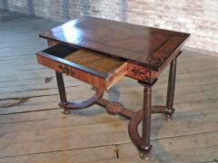 Baroque 17th Century Italian or Maltese Marquetry Center table or Desk - 1300958