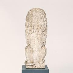 Baroque Limestone Lion from Solg rden circa 1700s - 910431