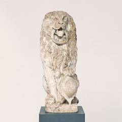 Baroque Limestone Lion from Solg rden circa 1700s - 910434