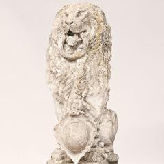 Baroque Limestone Lion from Solg rden circa 1700s - 910435